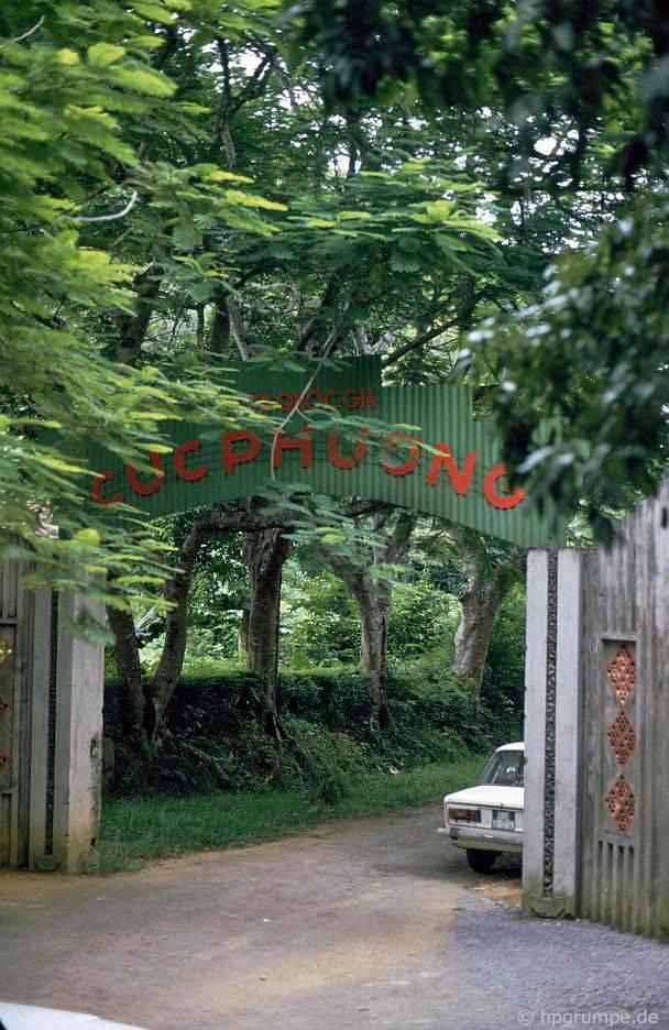 Vườn Quốc gia Cúc Phương: lối vào