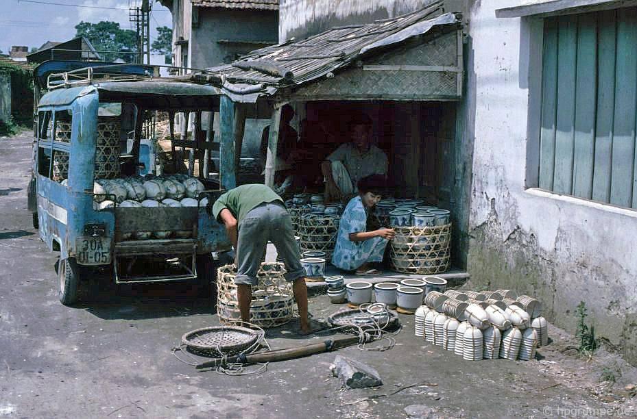 Ngoại thành Hà Nội năm 1991, 1992 trong ảnh của Hans-Peter Grumpe