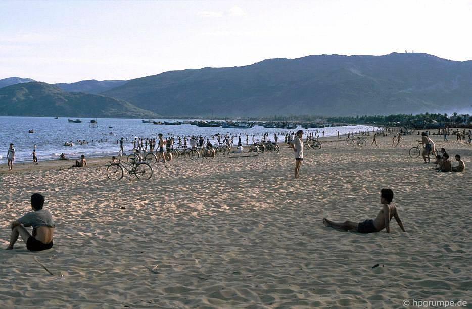 Quy Nhơn - Tại bãi biển