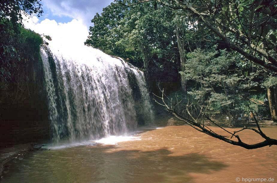 Đà Lạt: thác nước