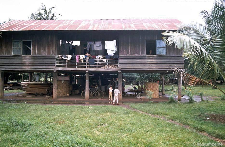 Làng Ede Tom Tua: Longhouse