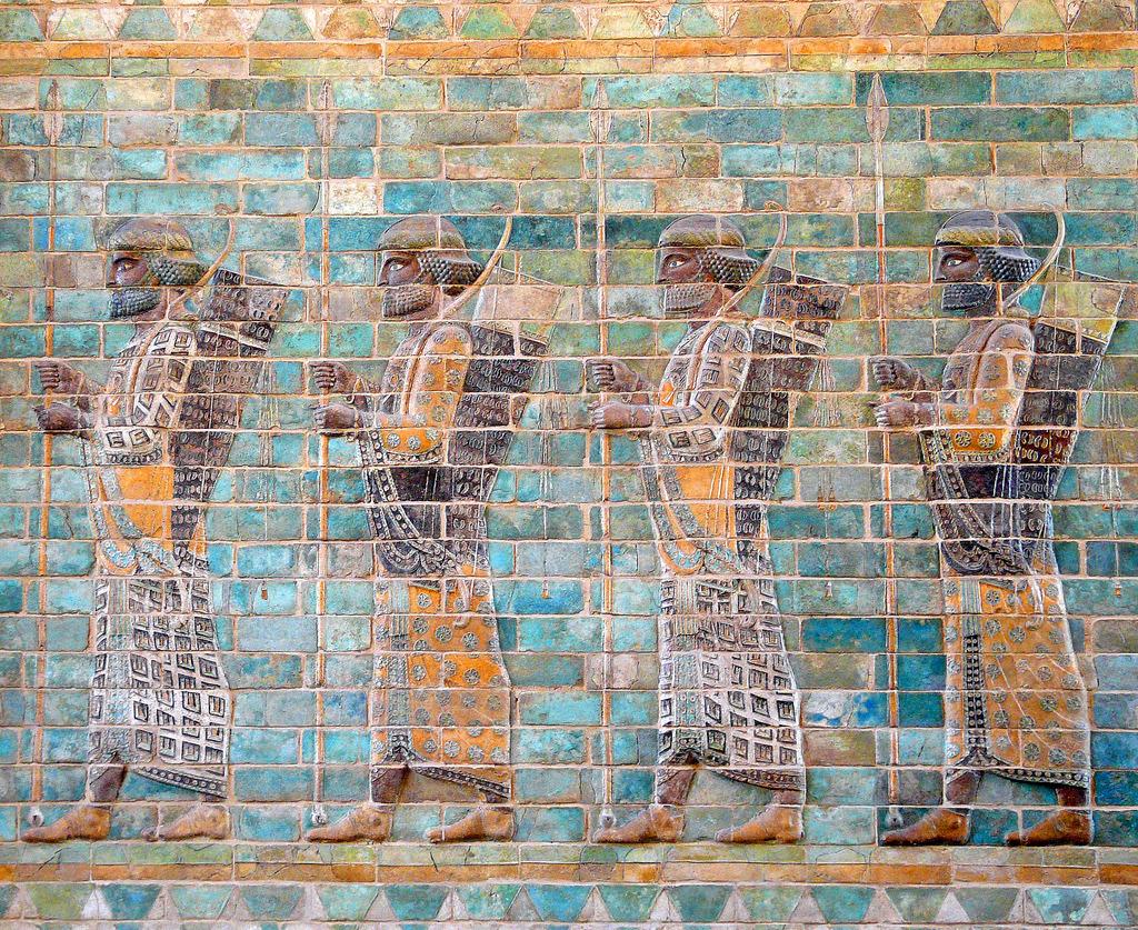 Huyền thoại và sự thật về đội quân Bất tử của đế quốc Ba Tư cổ đại