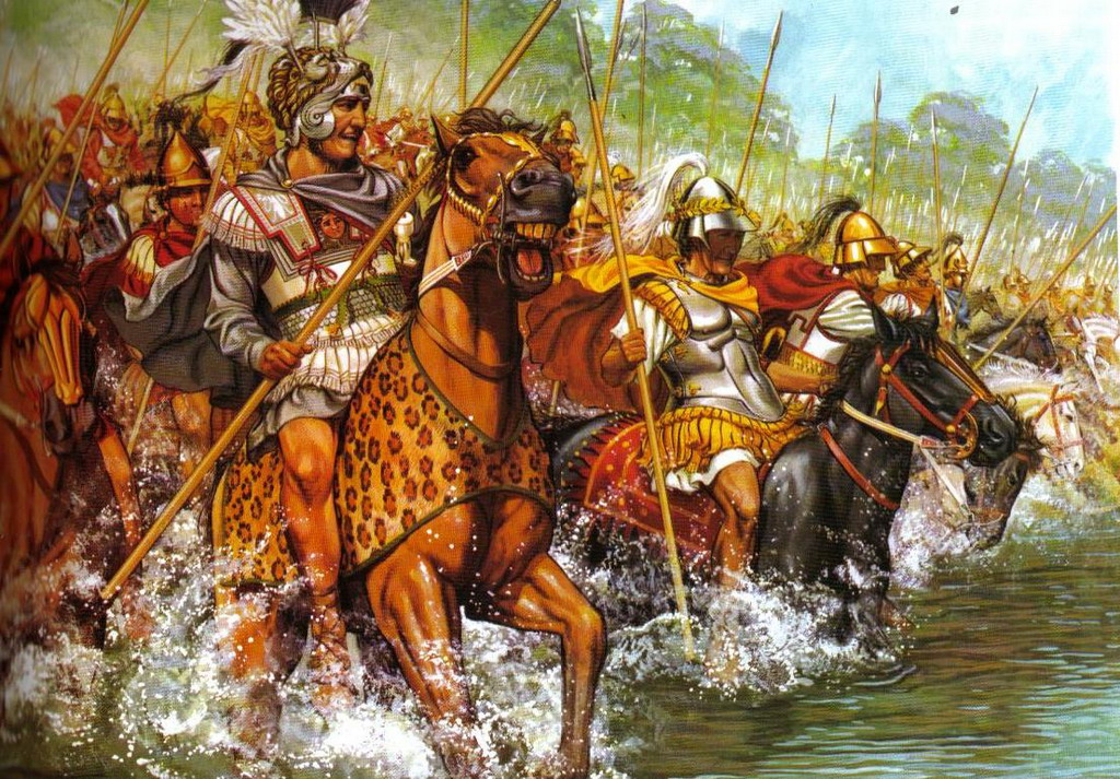 Sức mạnh khủng khiếp của kỵ binh Hetairoi Macedonia thời Cổ đại