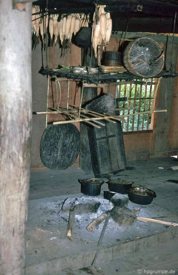 Thaidorf: nhà bếp trong một ngôi nhà Thái Lan