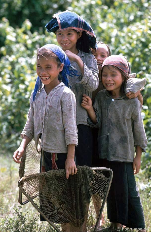 trẻ em Thái Lan