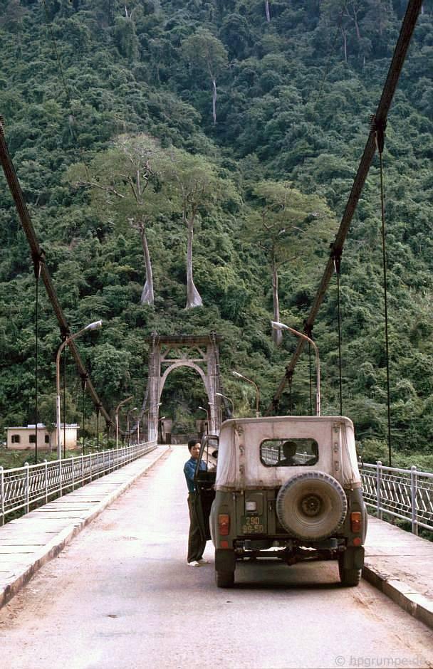 Lai Châu: cầu treo