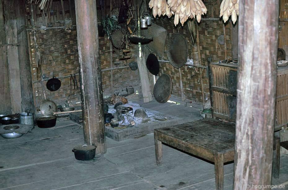 Nhà của người Thái Trắng: nhà bếp