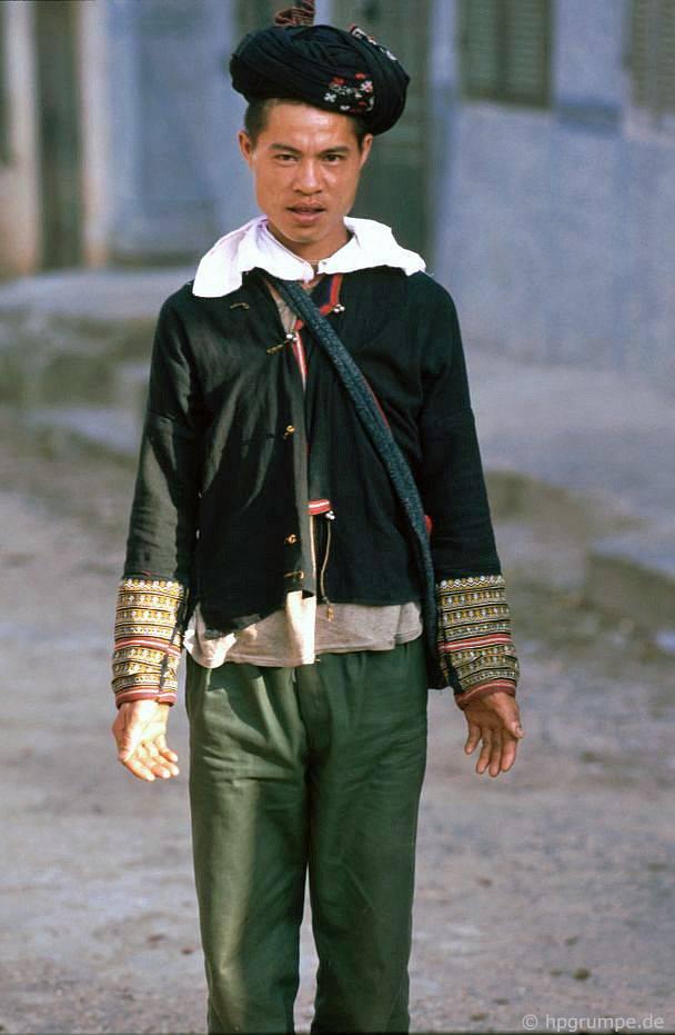 Sa Pa: Người đàn ông trẻ của Hmong đen