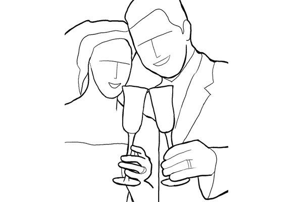 tạo dáng trong chụp ảnh đám cưới