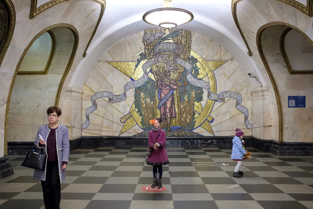 Tau dien ngam Moskva: Thoi gian ngung lai o noi ban ron nhat hinh anh 9