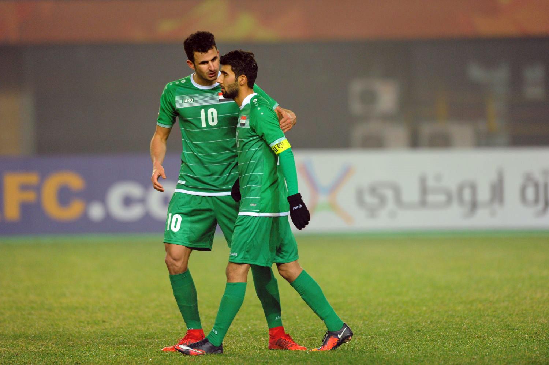 U23 Iraq bat khoc, lang nhin U23 Viet Nam an mung chien thang hinh anh 1