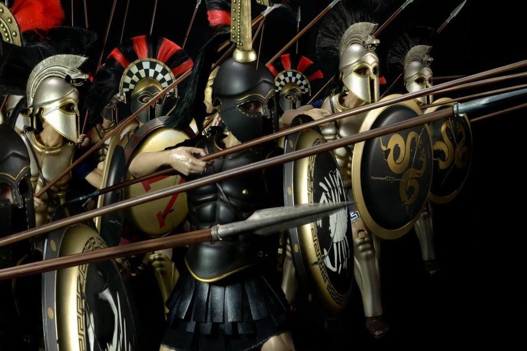 Hoplite – đội quân của niềm vinh quang Hy Lạp