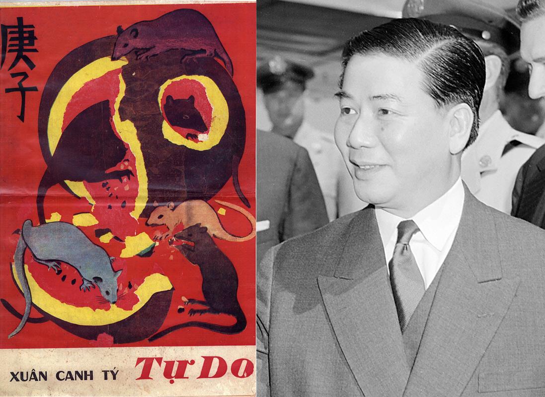 Bí mật của bức tranh Tết khiến Tổng thống Ngô Đình Diệm lồng lộn