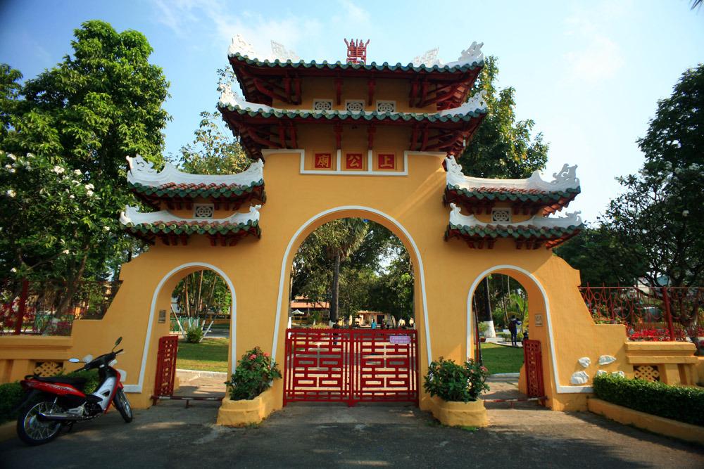Chùm ảnh: Lăng Ông Bà Chiểu – khu lăng mộ cổ nguy nga nhất Sài Gòn