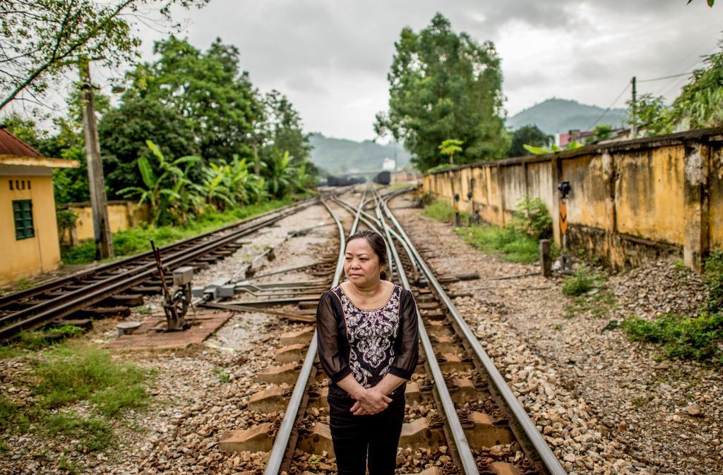 Ảnh: Bà Hiền chưa bao giờ có thể quên hết nỗi kinh hoàng của cuộc chiến tranh biên giới 1979