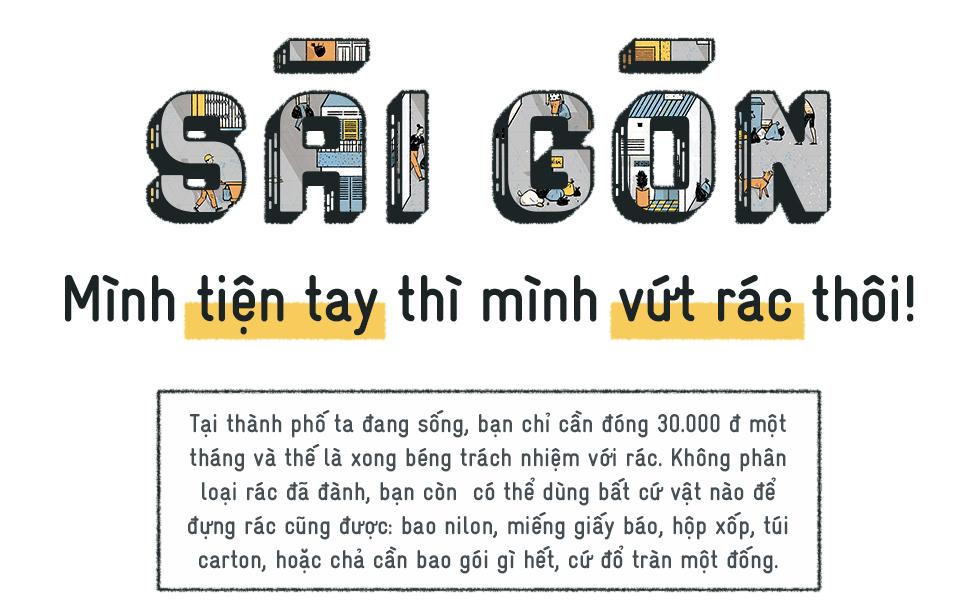 Ở Sài Gòn, mình tiện tay thì mình vứt rác... - Ảnh 1.