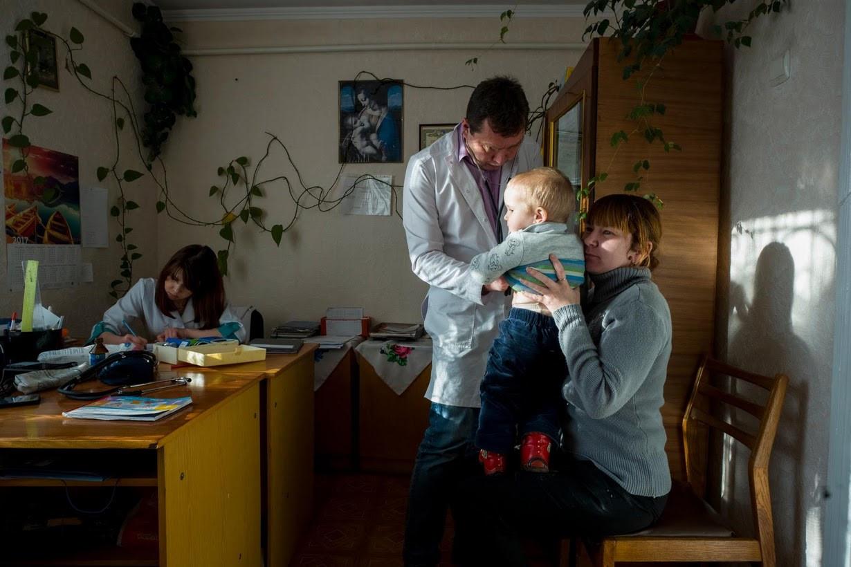 Ukraina: Noi bac si va benh nhan cung chat vat ton tai hinh anh 8