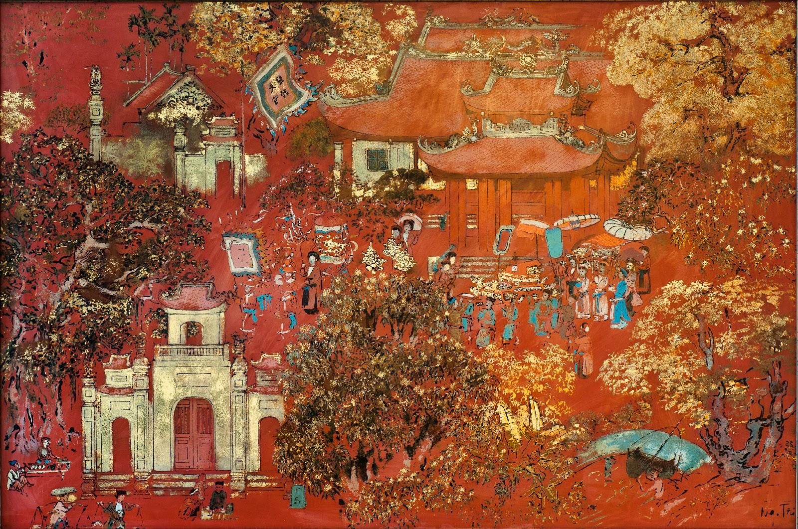 Vài suy nghĩ về tính truyền thống trong tranh sơn mài Việt Nam hiện đại