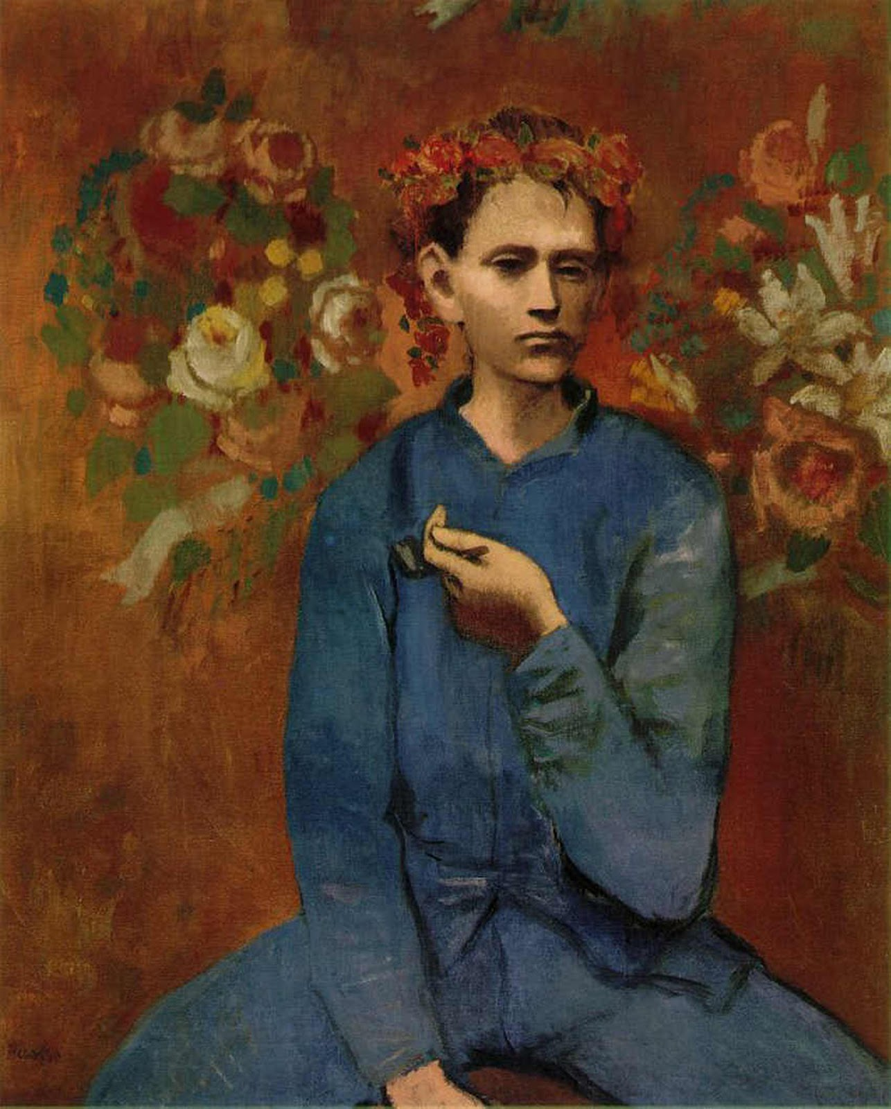 Image result for boy with a pipe picasso