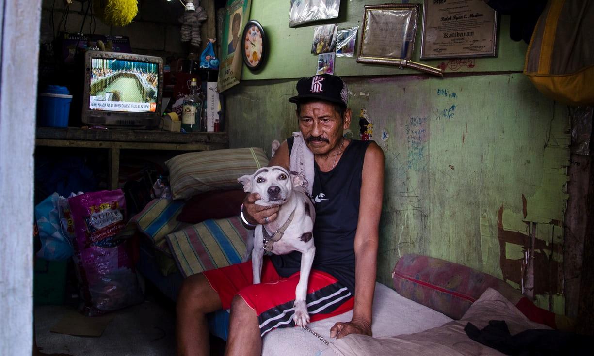 Cuoc song tai khu o chuot o cac nghia trang Philippines hinh anh 5