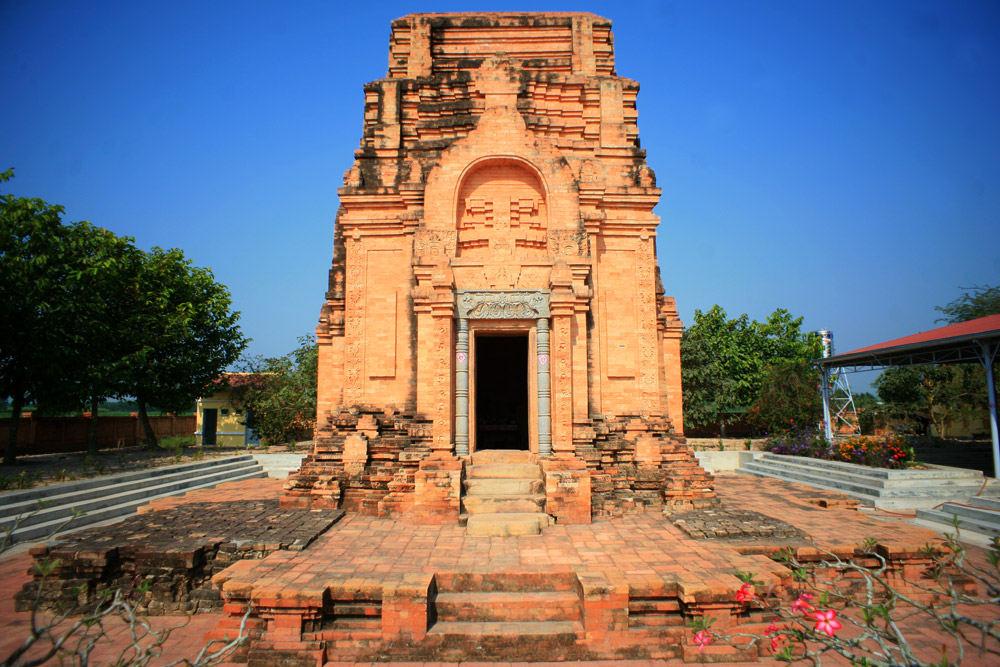 Chùm ảnh: Tháp Chót Mạt – cổ tháp 1.300 tuổi của nền văn hóa Óc Eo