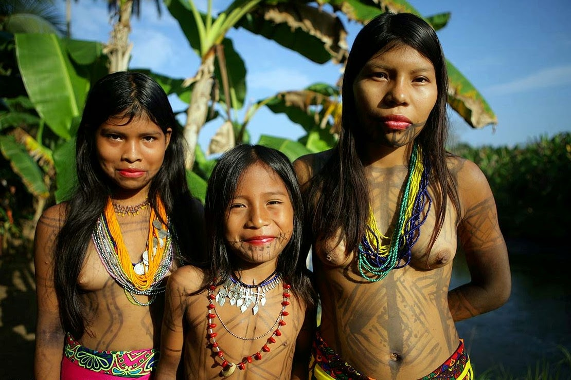 Image result for body painting tribe woman