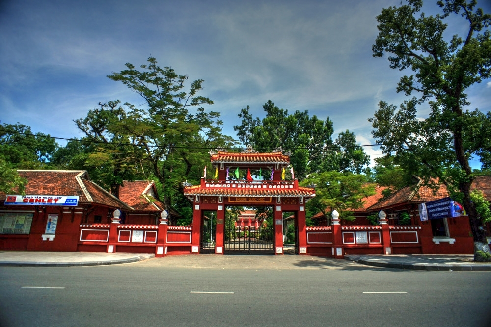 Chùm ảnh: Trường Quốc Học – một chứng nhân lịch sử của xứ Huế