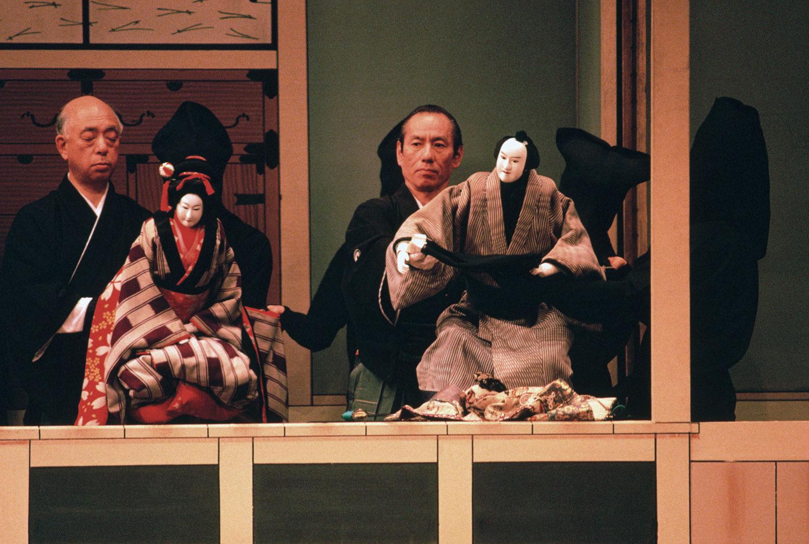 Bunraku – nghệ thuật múa rối đặc sắc Nhật Bản