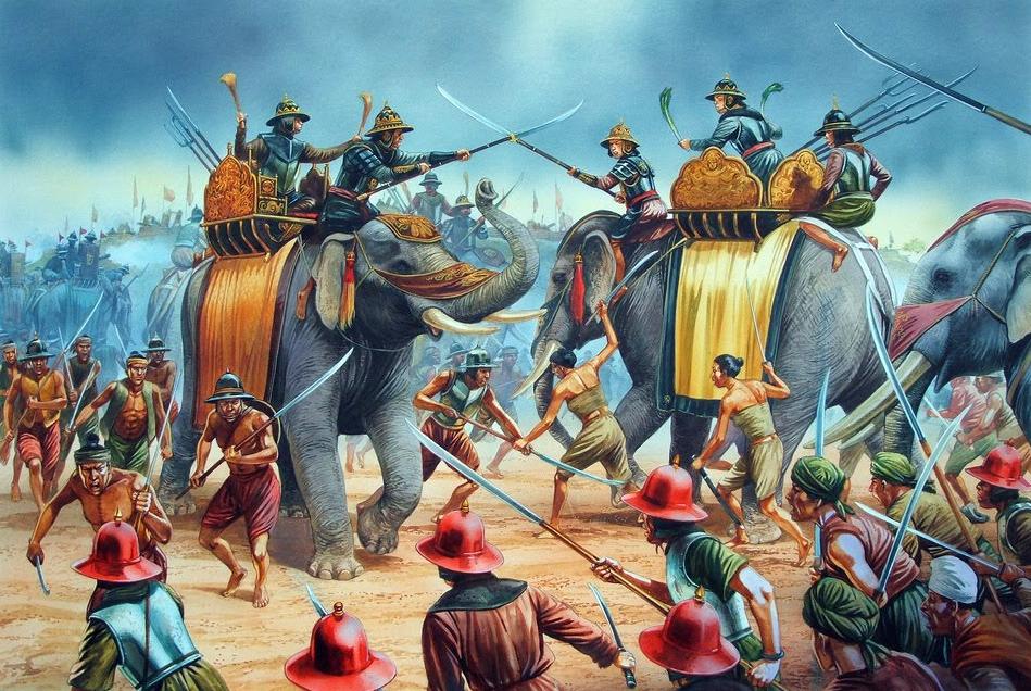 Khảo cứu về cuộc chiến tranh Xiêm La – Miến Điện thế kỷ 18