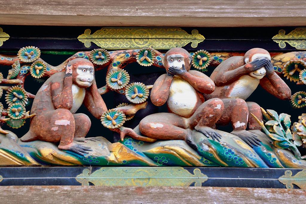 Triết lý thiền phía sau hình tượng Bộ khỉ tam không