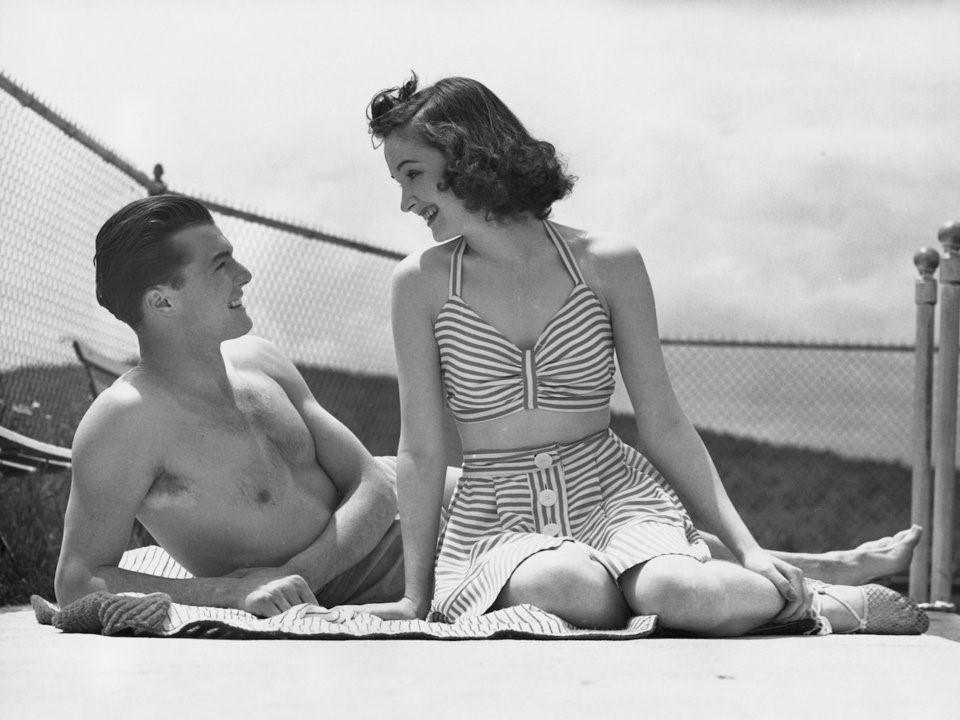 Chùm ảnh: Mùa hè của người Mỹ những năm 1900