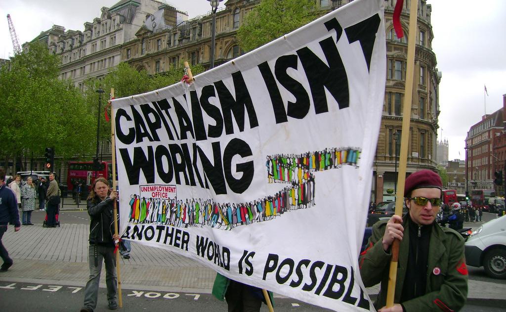Dấu hiệu tinh tế về sự giãy chết của chủ nghĩa tư bản ở Mỹ