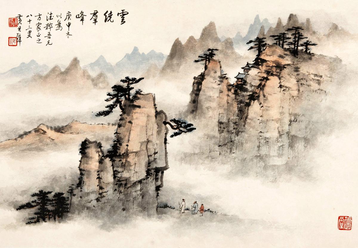 Những điều cần biết về tranh thủy mặc Trung Hoa