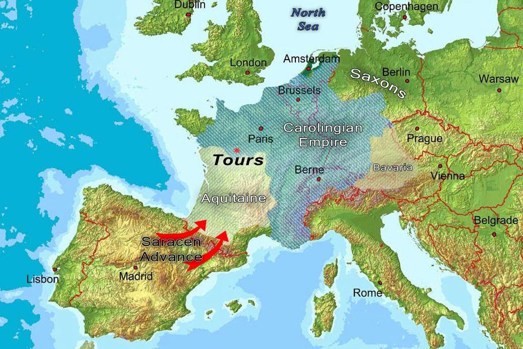 Tours 732, trận chiến cứu châu Âu khỏi bàn tay Hồi giáo