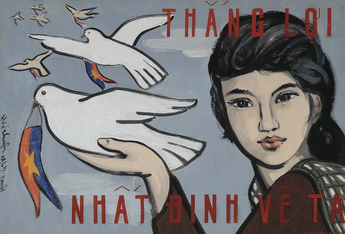 Tranh cổ động Việt Nam: Đồng hành cùng lịch sử
