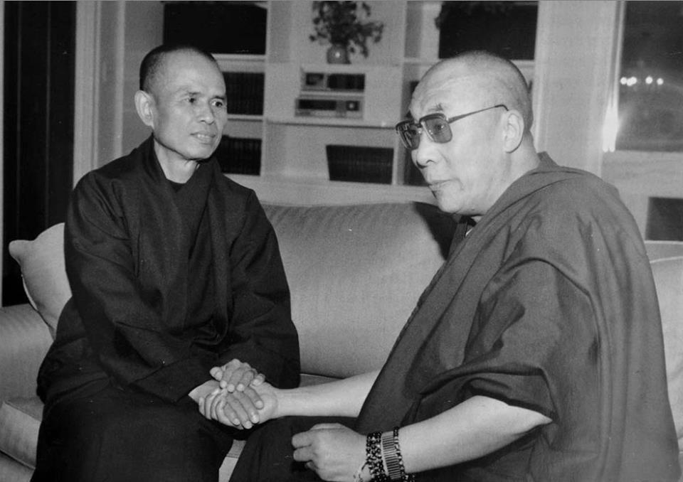 Đạt Lai Lạt Ma, Thiền sư Thích Nhất Hạnh và tư tưởng của Marx
