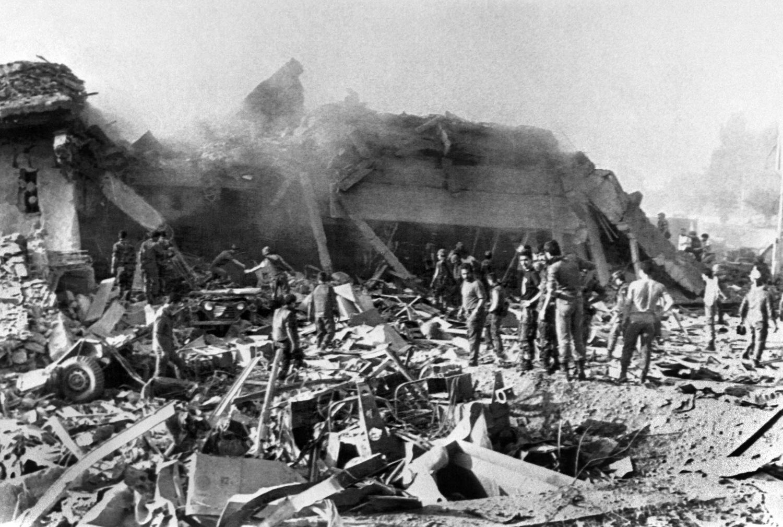 Beirut ngày 23/10/1983: 300 lính Mỹ-Pháp chết trong vài phút ở Lebanon
