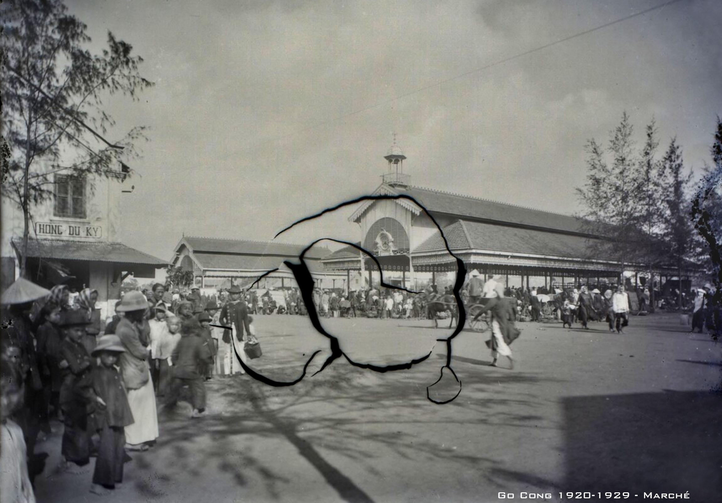 Hình ảnh hiếm về mảnh đất Gò Công thập niên 1920