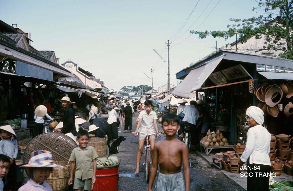 Sóc Trăng năm 1964 qua ảnh của George Muccianti