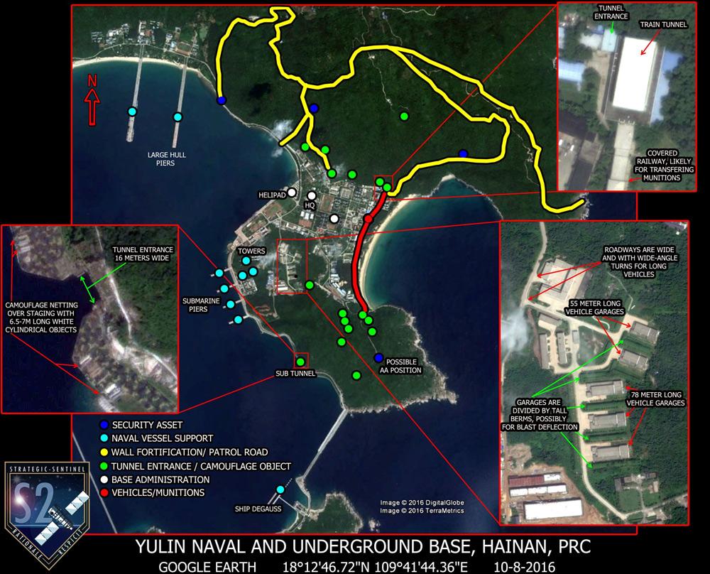 Căn cứ Ngọc Lâm – lưỡi dao nguy hiểm của Trung Quốc ở đảo Hải Nam