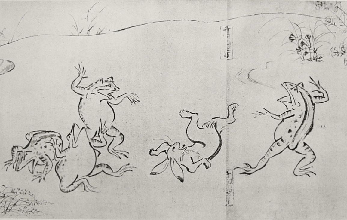 Điểu thú nhân vật hý họa: Bộ manga cổ xưa nhất Nhật Bản
