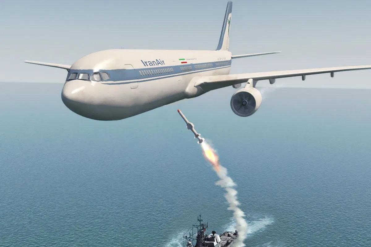 Đằng sau vụ Mỹ bắn hạ máy bay chở khách Iran năm 1988