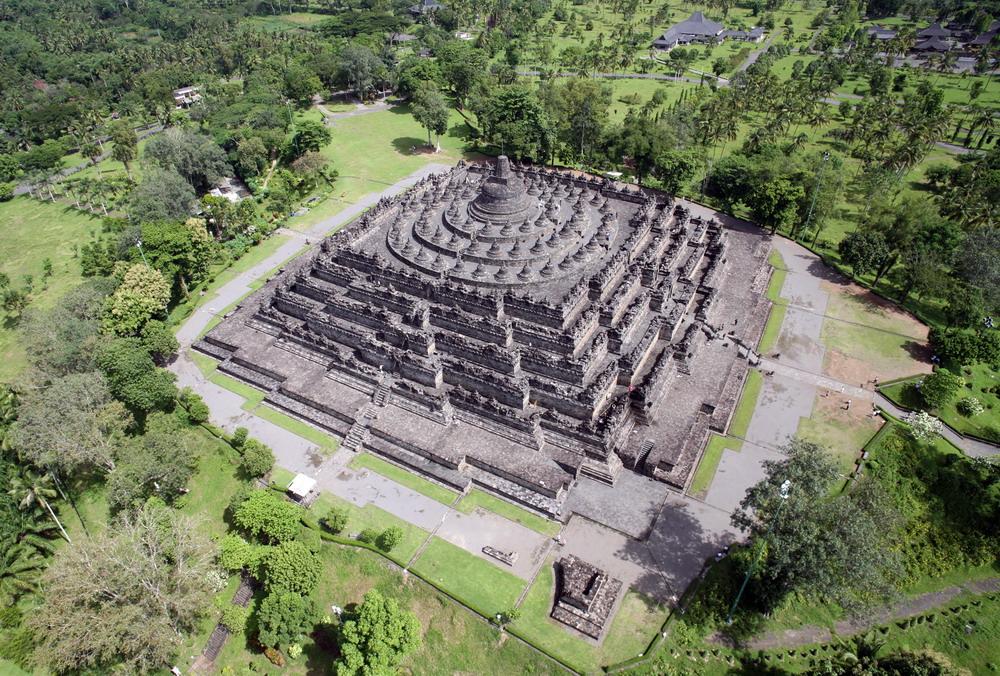 Chùm ảnh: Borobudur – kỳ quan Phật giáo lớn nhất thế giới