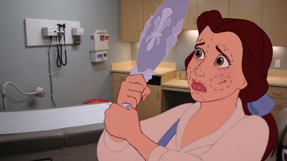 Chùm ảnh: Sự thật phũ phàng khi nhân vật hoạt hình Disney bước ra đời thực