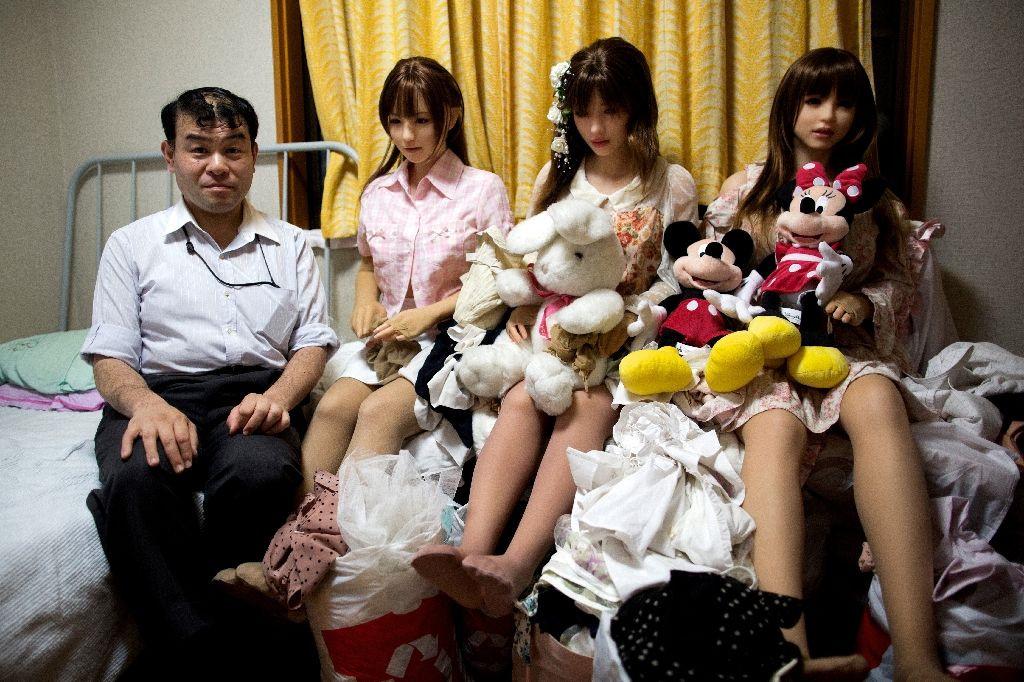 Chùm ảnh: Đàn ông Nhật tìm tình yêu nơi búp bê tình dục giống hệt người thật