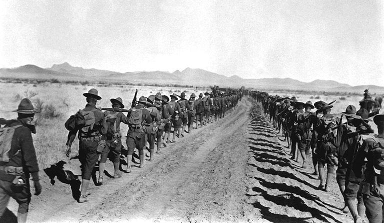 Vì sao Mexico không d xâm lược Mỹ vào năm 1917