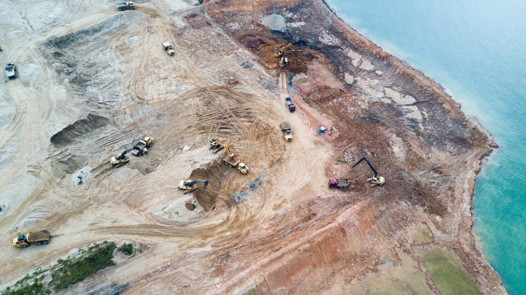 Chùm ảnh: Công cuộc lấp biển mở đất của Singapore