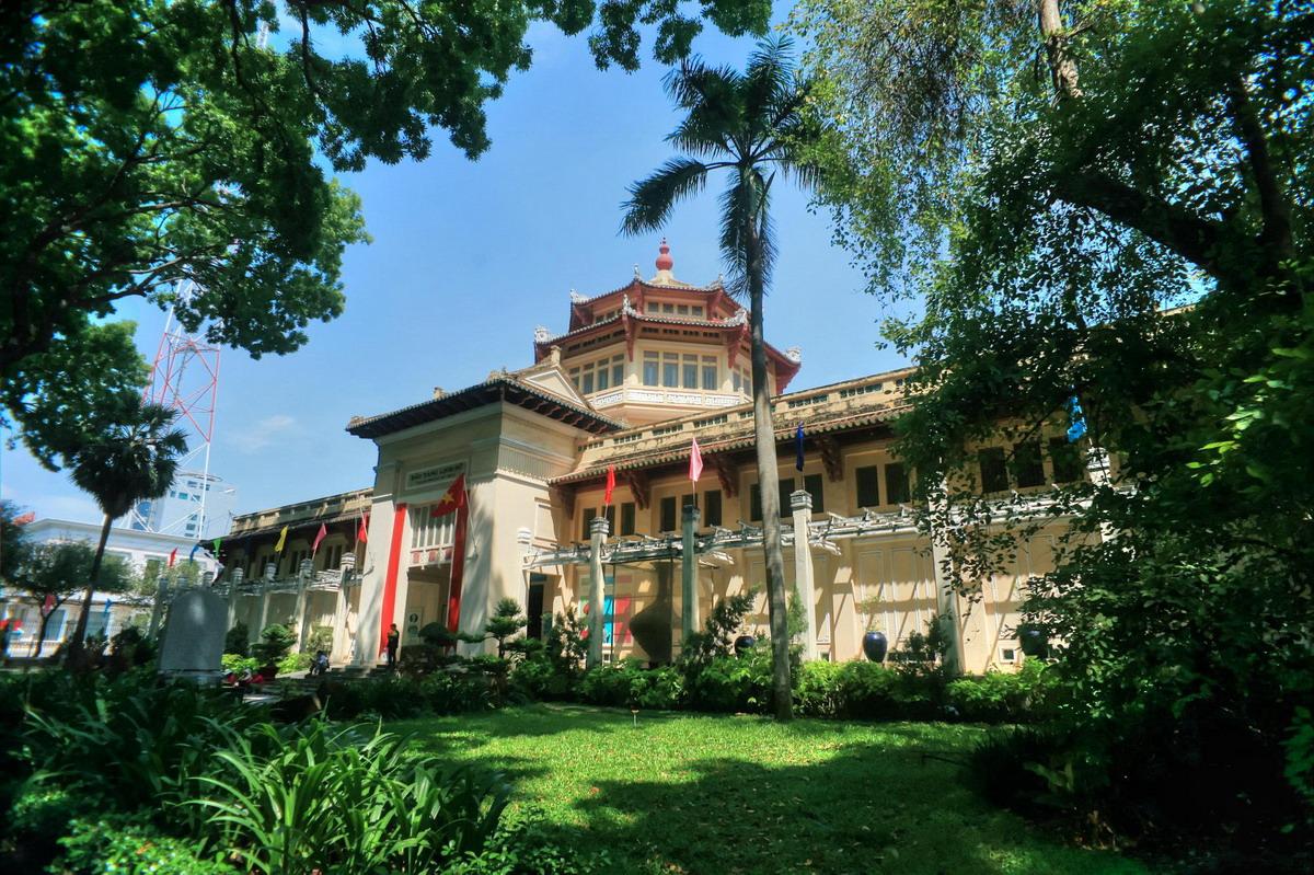 Chùm ảnh: Bảo tàng Lịch sử – một báu vật kiến trúc của Sài Gòn xưa