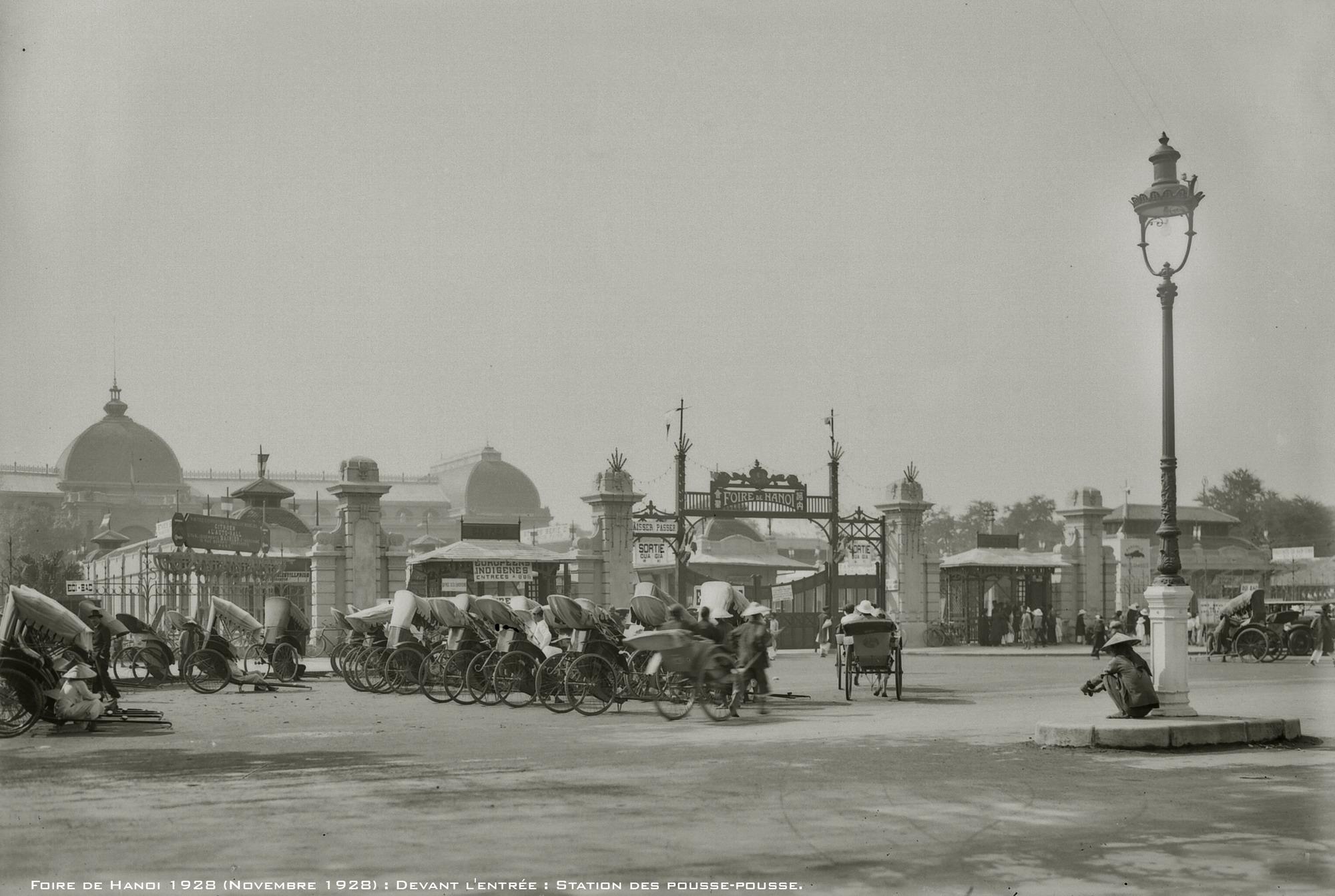 Hình ảnh hiếm có về hội chợ đấu xảo Hà Nội năm 1928