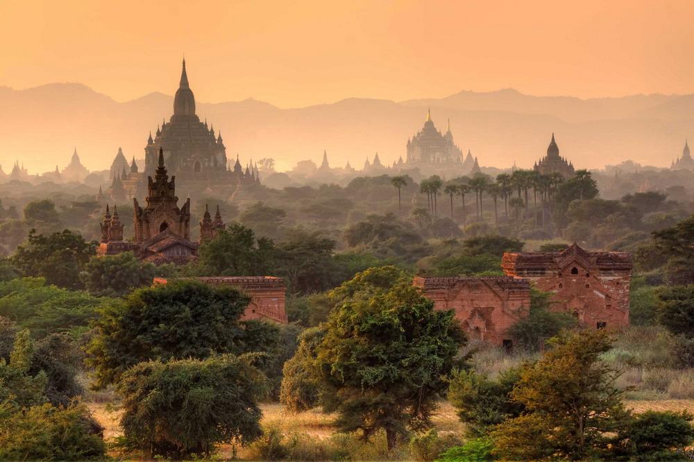 Hình ảnh choáng ngợp từ thánh địa Phật giáo Bagan